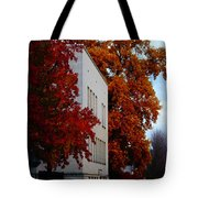 Autumn At The Grants Pass Courthouse Tote Bag