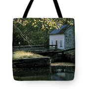 Autumn At The Lockhouse Tote Bag