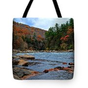 Autumn At The Youghiogheny Tote Bag
