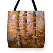 Autumn At Tishomingo State Park Tote Bag