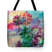 Autumn Aura Tote Bag