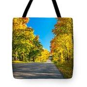 Autumn Back Road Tote Bag