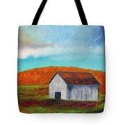 Autumn Barn In Color Tote Bag