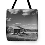Autumn Barn Monochrome Tote Bag