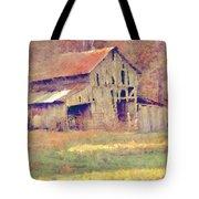 Autumn Barn Tote Bag
