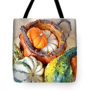 Autumn Basketful Tote Bag