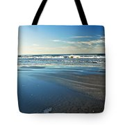 Relaxing Autumn Beach  Tote Bag