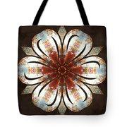 Autumn Blooming Tote Bag by Derek Gedney