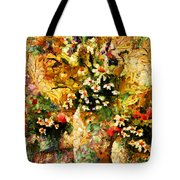 Autumn Bounty - Abstract Expressionism Tote Bag