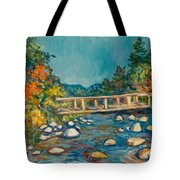 Autumn Bridge Tote Bag