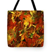 Autumn Burst Tote Bag