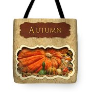 Autumn Button Tote Bag by Mike Savad