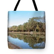 Autumn By The Erie Canal Tote Bag