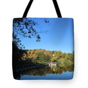 Autumn By The Lake 1 Tote Bag