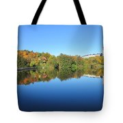 Autumn By The Lake 3 Tote Bag