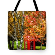 Autumn Call Tote Bag