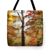 Autumn Canvas Tote Bag