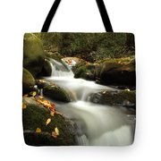 Autumn Cascades In Tennessee Tote Bag