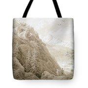 Autumn Tote Bag by Caspar David Friedrich