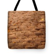 Autumn Cobble Stone Road II Tote Bag