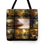 Autumn Collage Tote Bag