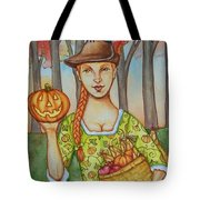 Autumn Colonial Tote Bag