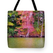 Autumn Color In Norfolk Botanical Garden 1 Tote Bag