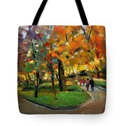 Autumn Colors - Lugano Tote Bag