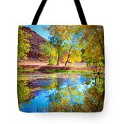 Autumn Colours In Moab Tote Bag