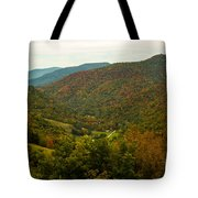 Autumn Comes To Appalachia  Tote Bag