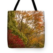 Autumn Comes To The Burbs Tote Bag