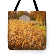 Autumn Corn Tote Bag