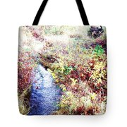 Autumn Creek Tote Bag