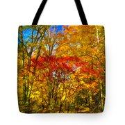 Autumn Cul-de-sac - Paint Tote Bag