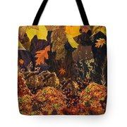 Autumn Tote Bag by Denise Mazzocco