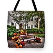 Autumn Display At The Sagamore Resort Tote Bag
