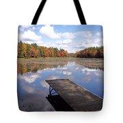 Autumn Dock Tote Bag