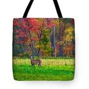 Autumn Doe - Paint Tote Bag