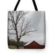 Autumn Dusk On The Farm Tote Bag