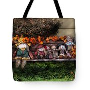 Autumn - Family Reunion Tote Bag by Mike Savad