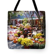 Autumn Farmers Market By Karen E. Francis Tote Bag