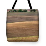 Autumn Fields Of Moravia Tote Bag