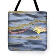 Autumn Floats Away Tote Bag