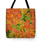 Autumn Floor Tote Bag
