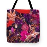 Autumn Flower Bouquet Tote Bag