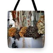 Autumn Flower Box Tote Bag