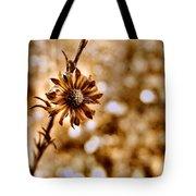 Autumn Flower Tote Bag