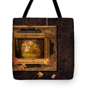Autumn Frame Tote Bag by Amanda Elwell