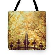 Autumn Gates Tote Bag