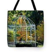 Autumn Gazebo Tote Bag